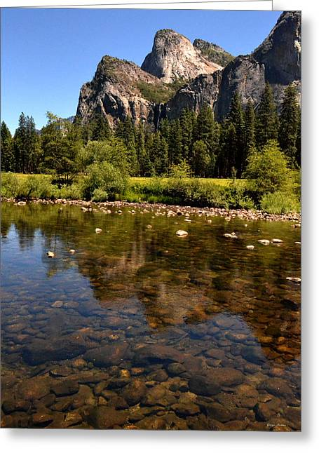The Beauty Of Yosemite Greeting Card