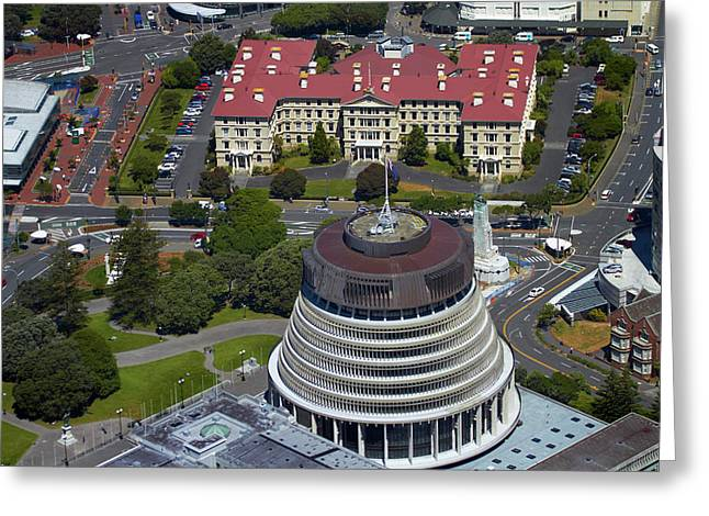 The Beehive, Parliament Grounds Greeting Card