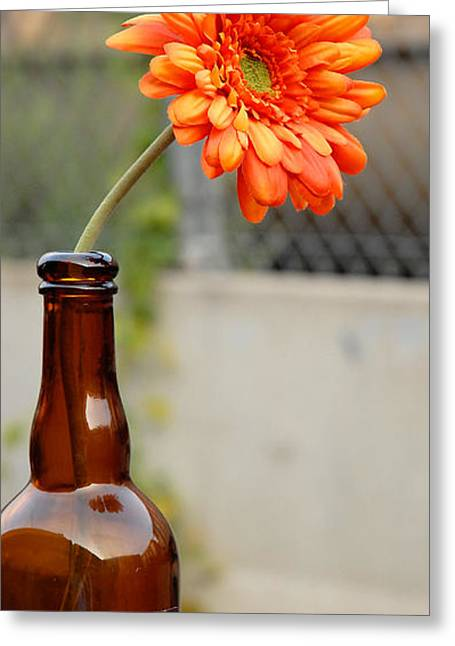 Greeting Card featuring the photograph The Beer Garden by Lena Wilhite