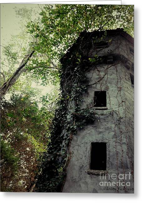 The Bell Tower  Greeting Card by Christy Ricafrente