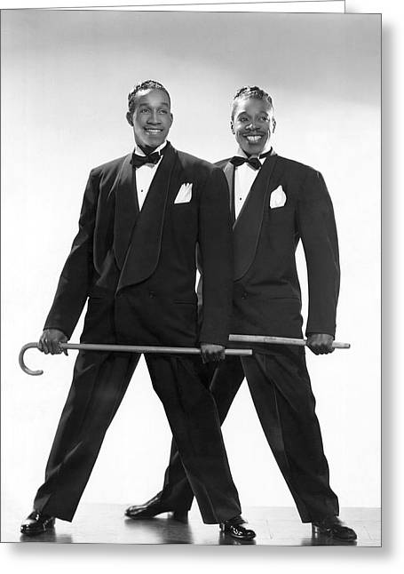 The Berry Brothers Dance Team Greeting Card by Underwood Archives