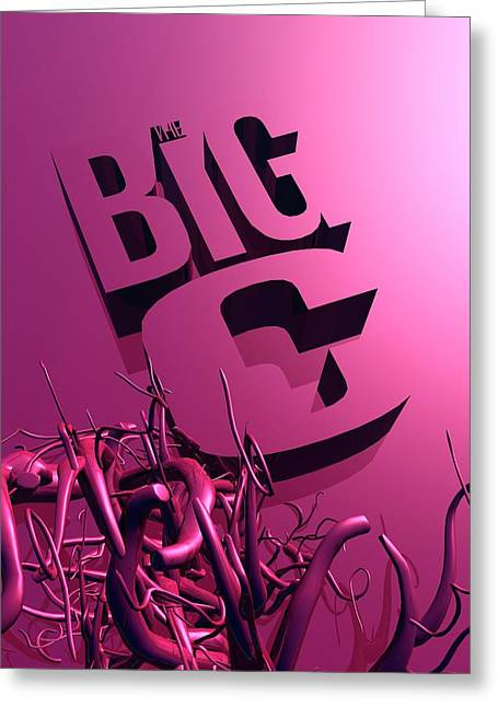 The Big C Greeting Card by Victor Habbick Visions