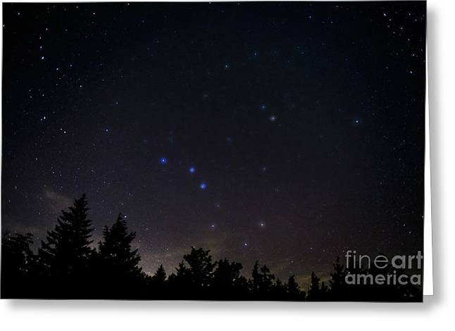 The Big Dipper Cranberry Wilderness Greeting Card by Thomas R Fletcher