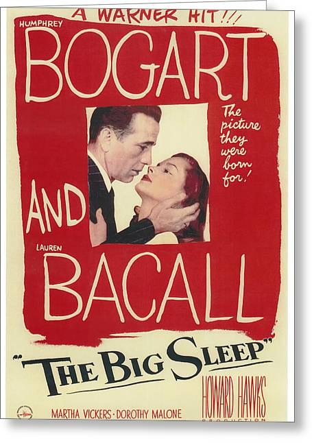 The Big Sleep Greeting Card