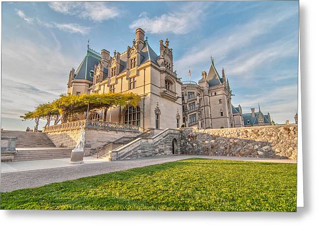 The Biltmore Greeting Card by Donnie Smith