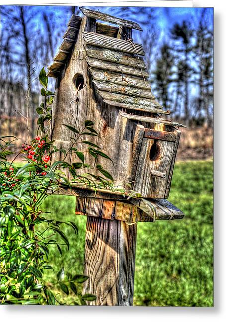The Bird House Greeting Card