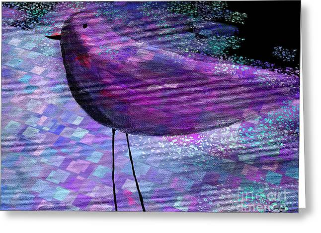 The Bird - S40b Greeting Card by Variance Collections