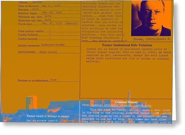 The Birdman Of Alcatraz San Francisco 20130323v1 Square Greeting Card