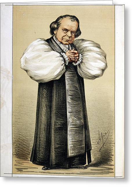The Bishop Of Oxford Greeting Card by British Library