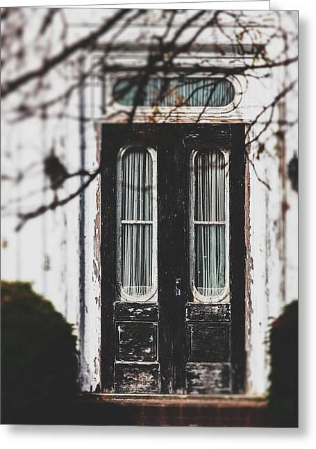 The Black Door Greeting Card