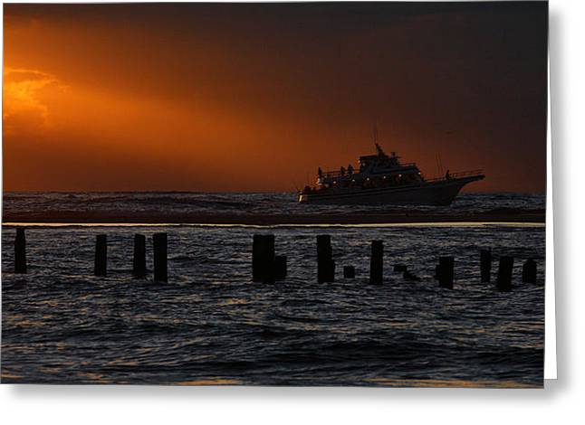 The Blessed Crew - Outer Banks Greeting Card by Dan Carmichael