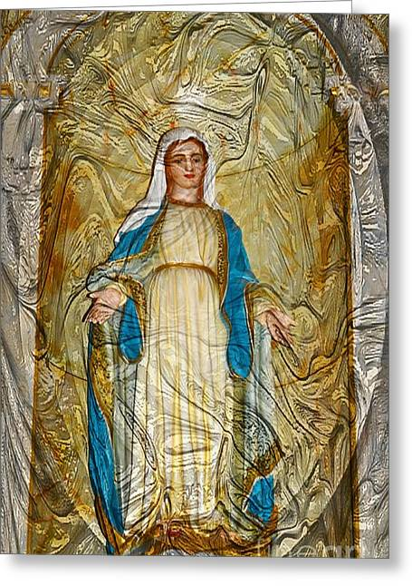 The Blessed Mother Greeting Card