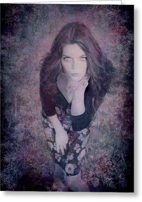 The Blown Kiss Greeting Card by Loriental Photography