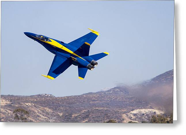 The Blue Angels In Action 4 Greeting Card