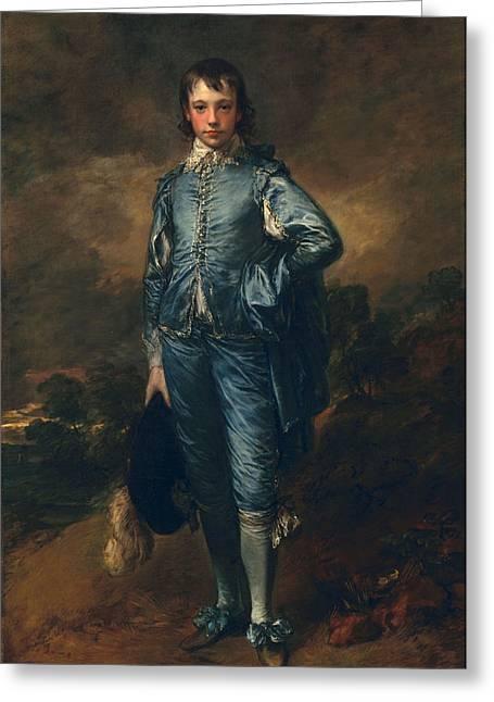 The Blue Boy, C.1770 Greeting Card by Thomas Gainsborough