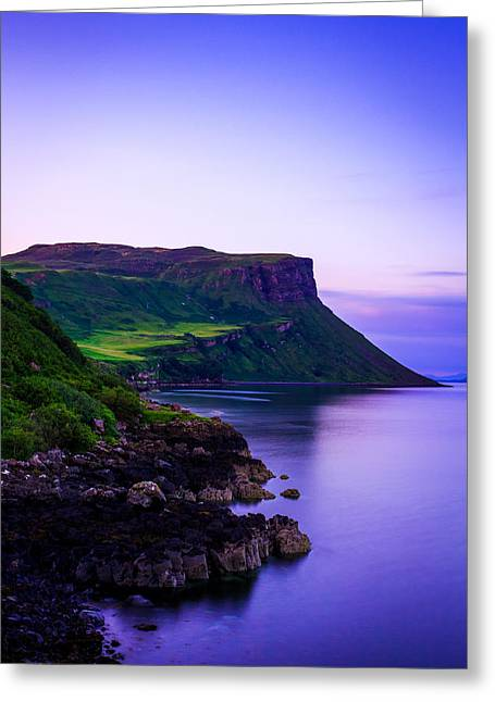 The Blue Hour Greeting Card by Yuri Fineart