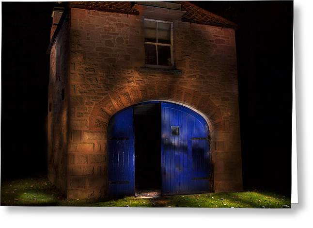 The Boathouse Paxton House Greeting Card by Niall McWilliam