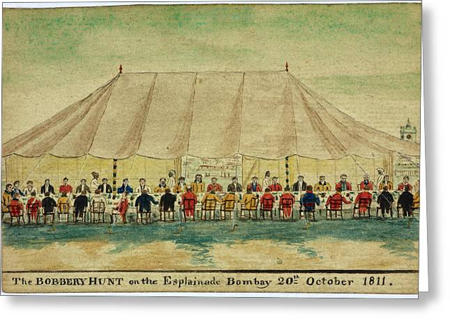 The Bobbery Hunt On The Bombay Esplainade Photograph by British Library