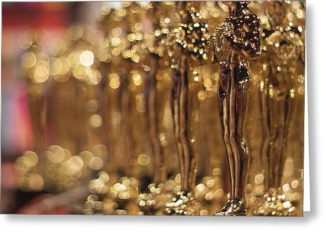 The Bokehed Oscars Greeting Card