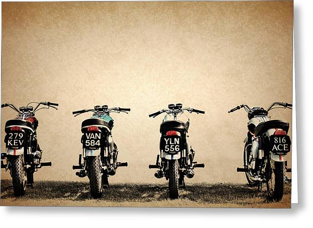 The Bonneville Four Greeting Card