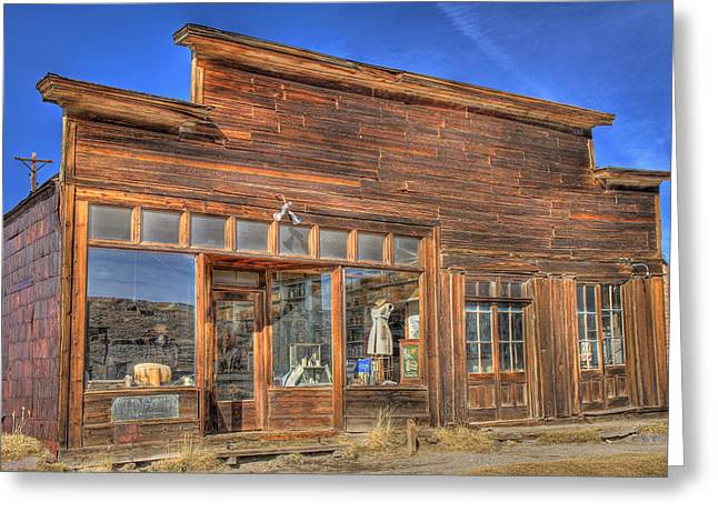 The Boone Store And Warehouse Greeting Card by Donna Kennedy