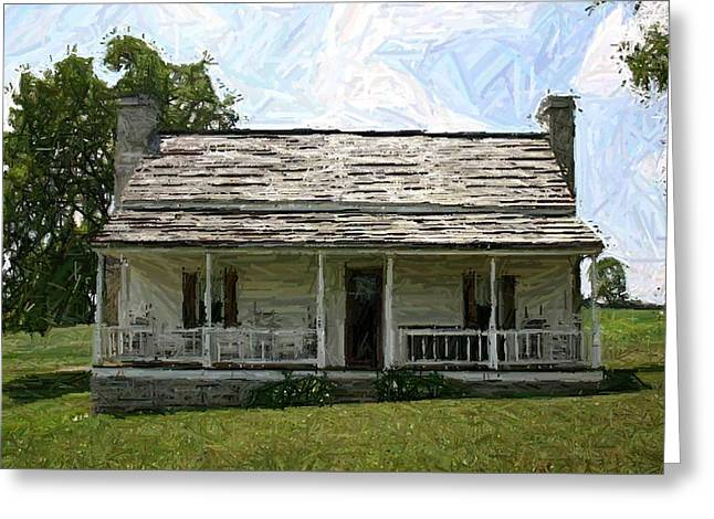 The Bottom House II - Perryville Ky Greeting Card by Thia Stover