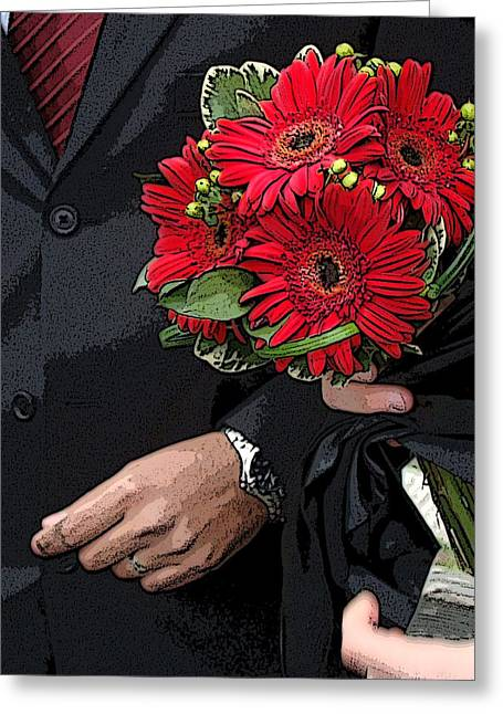 Greeting Card featuring the photograph The Bouquet by Zinvolle Art