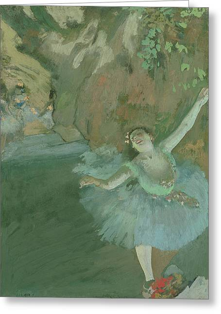 The Bow Of The Star Greeting Card by Edgar Degas