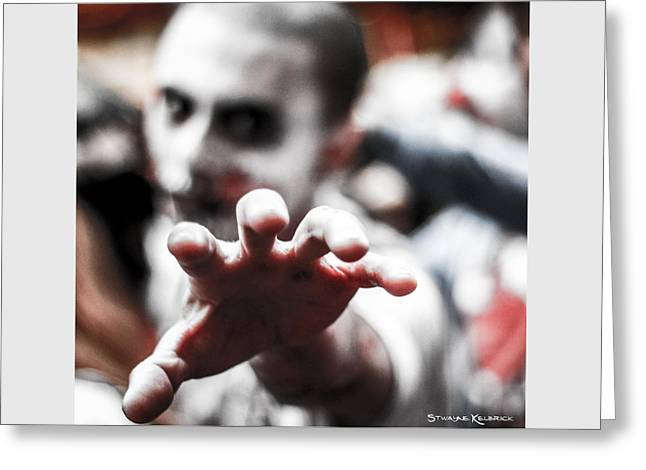 Greeting Card featuring the photograph The Brain Snatcher by Stwayne Keubrick