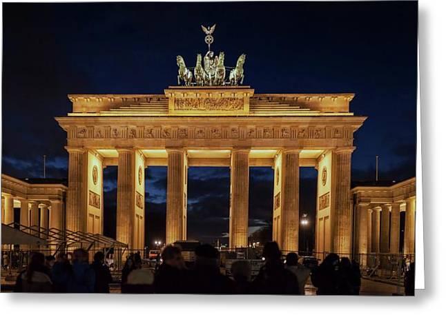 The Brandenburg Gate Greeting Card