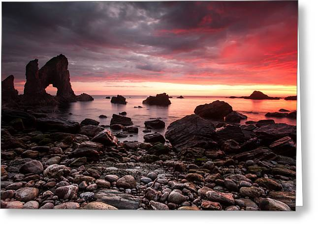 The Breeches Arch Greeting Card by Craig Brown