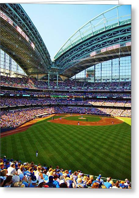 The Brewers Game Greeting Card