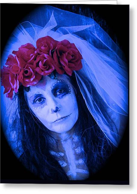 The Bride Waits Greeting Card