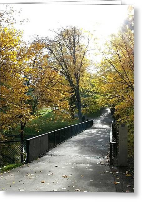 The Bridge Of Hope Greeting Card