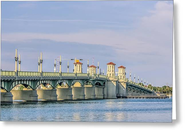 The Bridge Of Lions Greeting Card