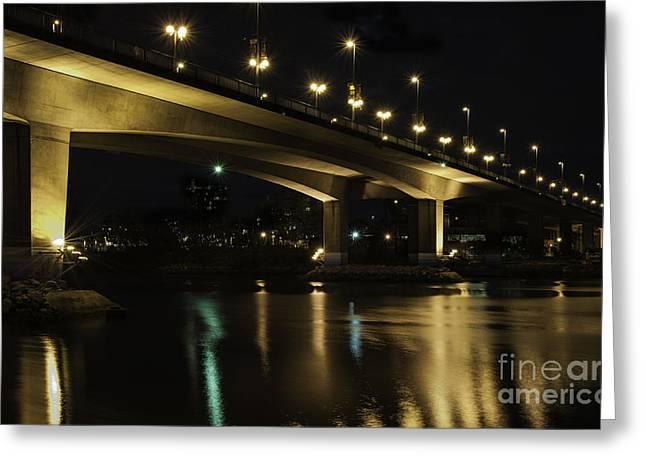 The Bridge Over False Creek Greeting Card