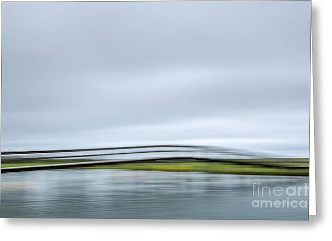The Bridge Greeting Card by Susan Cole Kelly Impressions