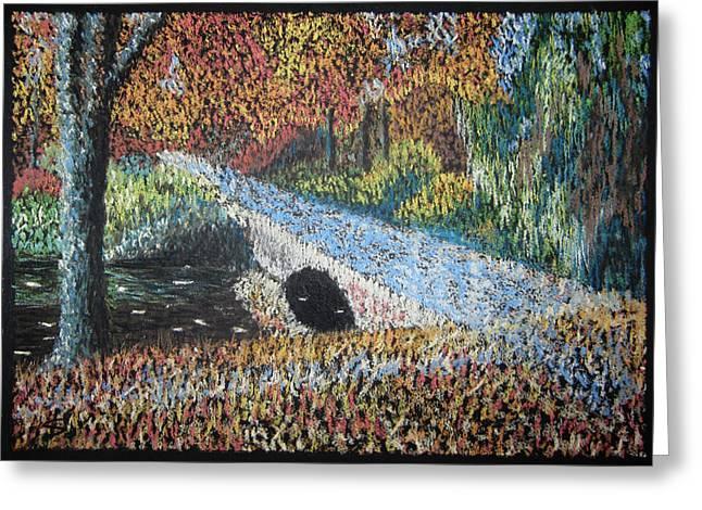 The Bridge Greeting Card by Svetlana Ivanova