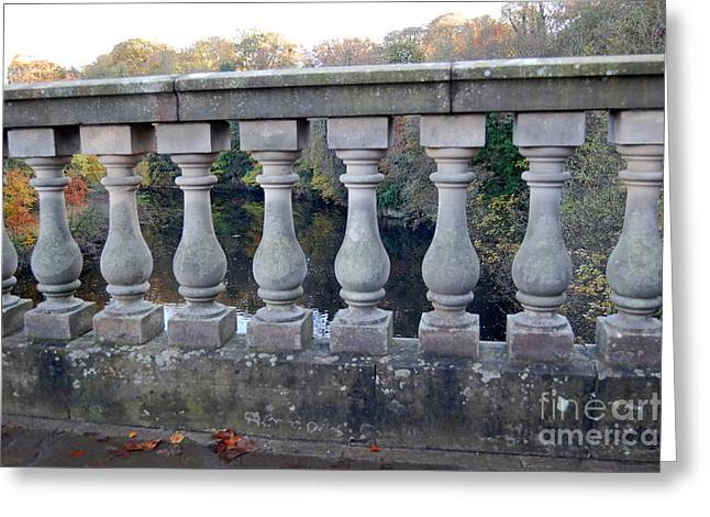 The Bridge To Knowledge Greeting Card by Linda Prewer