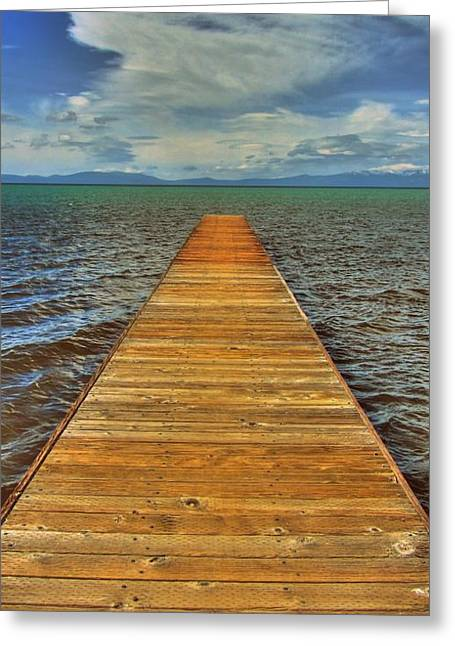 The Bridge To Nowhere And Everywhere Greeting Card