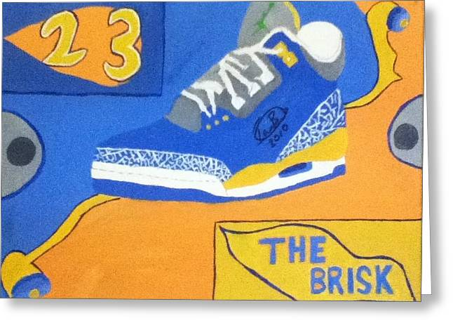 The Brisk Greeting Card by Mj  Museum