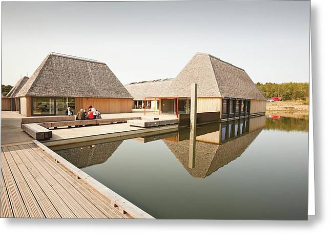 The Brockholes Visitor Centre Greeting Card by Ashley Cooper