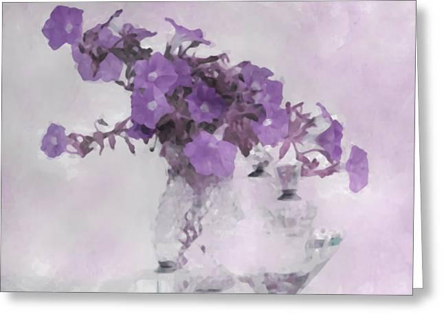 The Broken Branch - Digital Watercolor Greeting Card