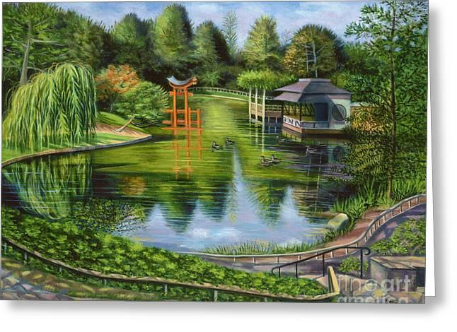 The Brooklyn Botanic Garden Greeting Card