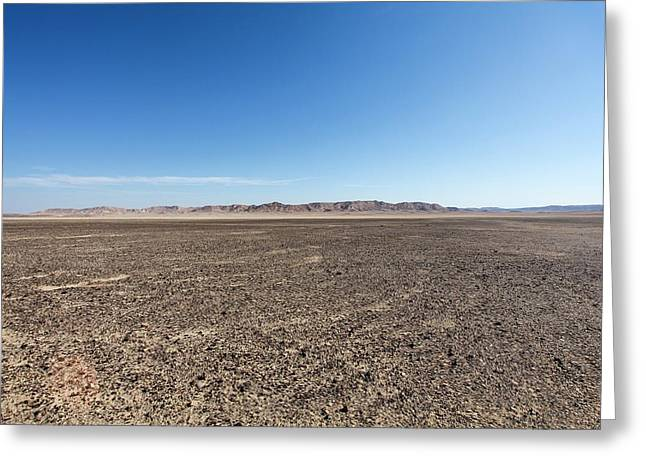 The Bulbus Rock Field At Mount Zin Greeting Card
