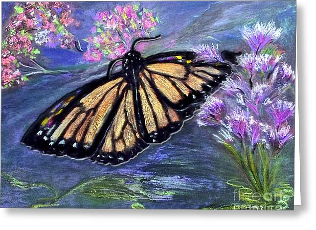 The Butterfly Effect Greeting Card