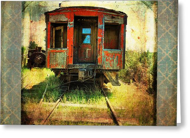The Caboose Greeting Card