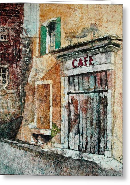 The Cafe Is Closed Greeting Card