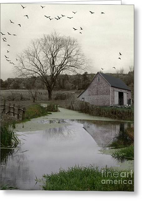 Greeting Card featuring the photograph The Calm by Mary Lou Chmura