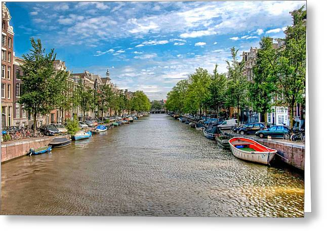 The Canal Greeting Card by Brent Durken